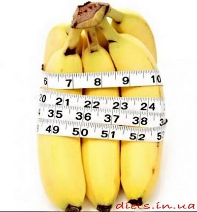Банановая диета для похудения на 3 дня
