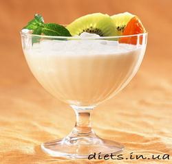 Диета с фруктами и молоком