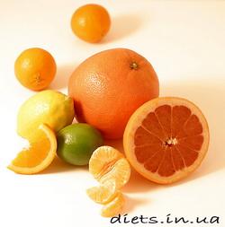диета цитрусовая
